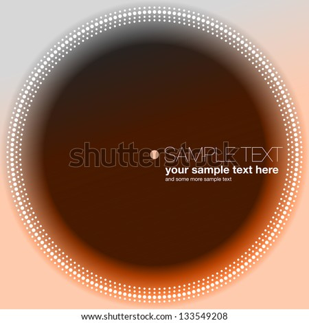 CD cover background - stock vector