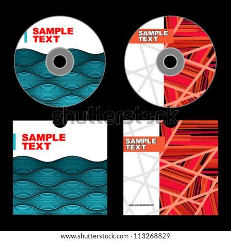Cd Cover Design Cd Design Stock Vector 113268829 - Shutterstock