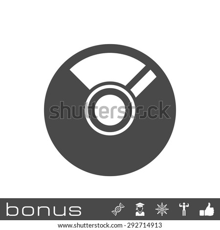 CD or DVD icon