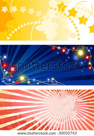 celebration pattern - stock vector