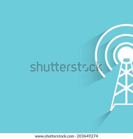 Pin Communications Towers Vector Clip Art on Pinterest