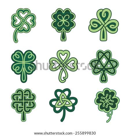 celtic clover stock images royalty free images vectors shutterstock. Black Bedroom Furniture Sets. Home Design Ideas