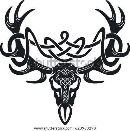 celtic knot deer images galleries with a bite. Black Bedroom Furniture Sets. Home Design Ideas
