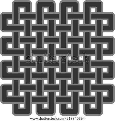 celtic ornamental design - stock vector