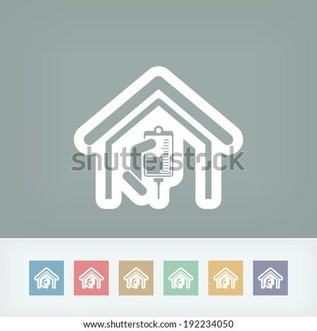 Center of medication - stock vector
