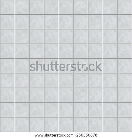 Ceramic tile floor. Seamless pattern. Vector illustration - stock vector