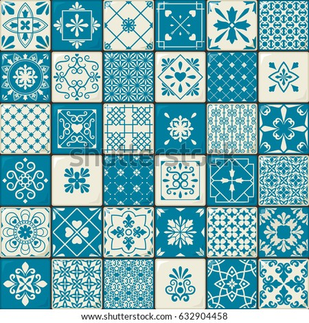Spanish Tile Stock Images Royalty Free Images Vectors