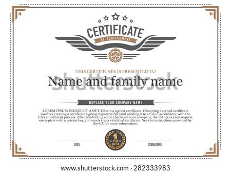 gold certificate borders