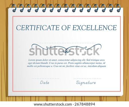 Recognition Award Certificate Stock Images, Royalty-Free Images
