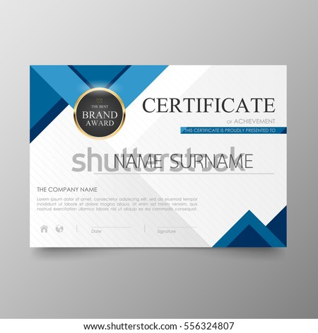 Certificate Design Stock Images, Royalty-Free Images ...
