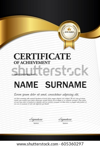 Gold Certificate Stock Images, Royalty-Free Images & Vectors ...
