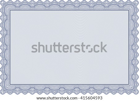 Certificate template diploma template complex background stock certificate template or diploma template complex background vector pattern that is used in currency yadclub Choice Image