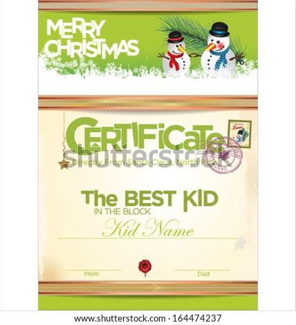 Christmas Certificate Photos RoyaltyFree Images Vectors – Santa Claus Certificate Template