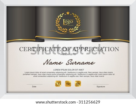 Vector stock certificate template choice image certificate vector stock certificate template gallery certificate design and vector stock certificate template choice image certificate vector yadclub Images