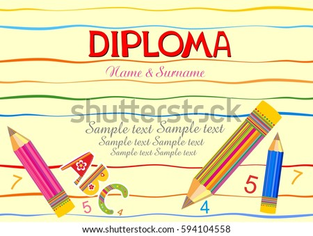Kids Diploma Stock Photos, Royalty-Free Images & Vectors