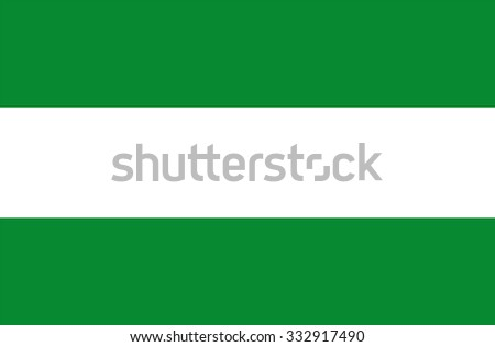 Cesar vector flag, Colombia. Flag of Colombian Department Cesar. - stock vector