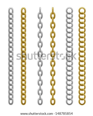 Chain  - stock vector
