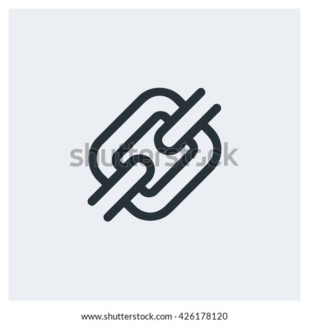 chain Icon, chain Icon Eps10, chain Icon Vector, chain Icon Eps, chain Icon Jpg, chain Icon Picture, chain Icon Flat, chain Icon App, chain Icon Web, chain Icon Art, chain Icon Object - stock vector
