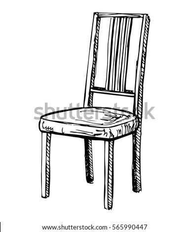 Chair Sketch chair sketch stock images, royalty-free images & vectors