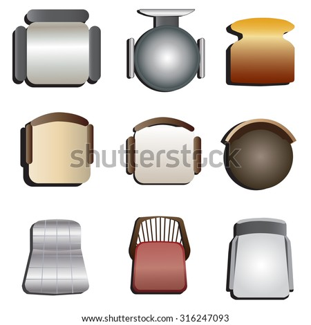 Chair Top View Stock Images Royalty Free Images Amp Vectors