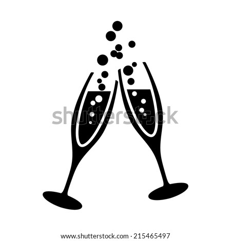 Champagne Glasses Stock Images, Royalty-Free Images & Vectors ...