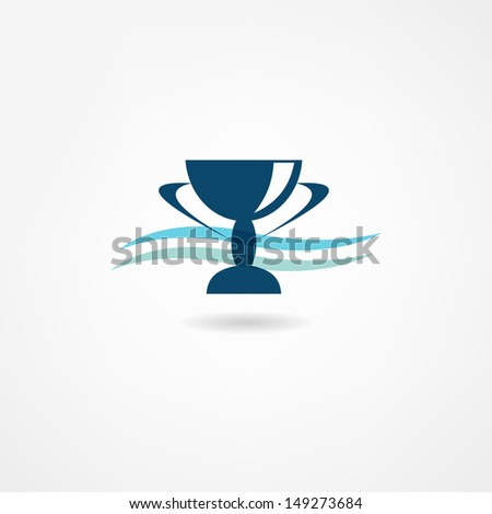 champion icon - stock vector
