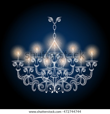 Gothic chandelier stock images royalty free images vectors chandelier sketch vector antique hand drawn gothic vintage chandelier aloadofball Gallery