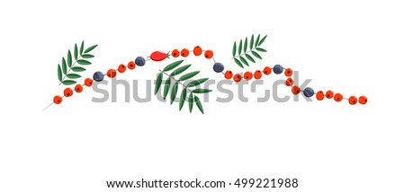 chaplet of rowan berry