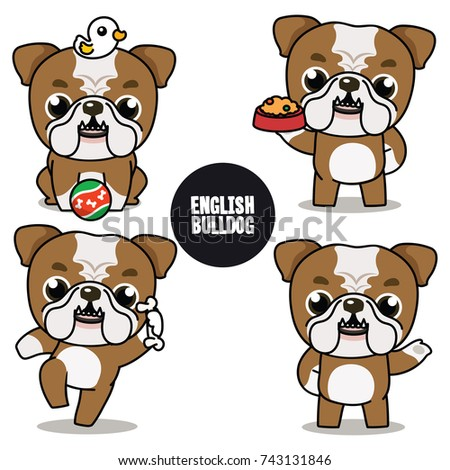 Simple Bulldog Brown Adorable Dog - stock-vector-character-design-of-brown-and-white-english-bulldog-cute-dog-difference-poses-isolated-on-white-743131846  Image_499012  .jpg