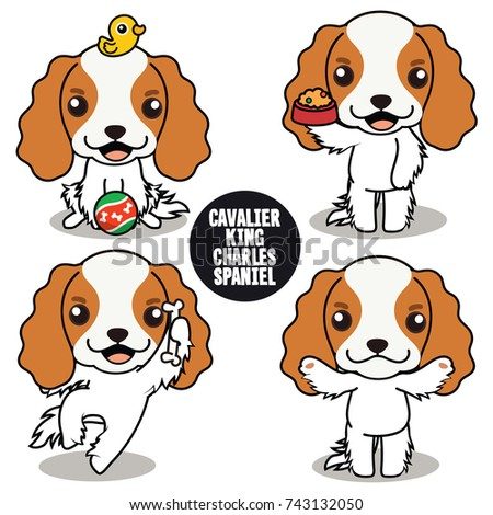 Top Charles Spaniel Brown Adorable Dog - stock-vector-character-design-of-cavalier-king-charles-spaniel-brown-ears-cute-dog-difference-poses-isolated-743132050  Graphic_926239  .jpg