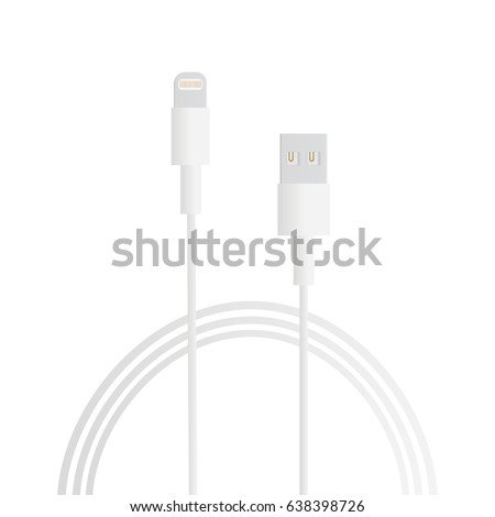 Charger Smartphone I Phone Tablet I Pad Computer Stock Vector (2018 ...