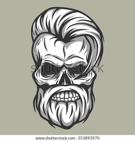 Old Man Face Stock Vectors Amp Vector Clip Art Shutterstock