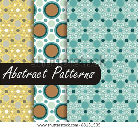 Charming  Patterns - stock vector