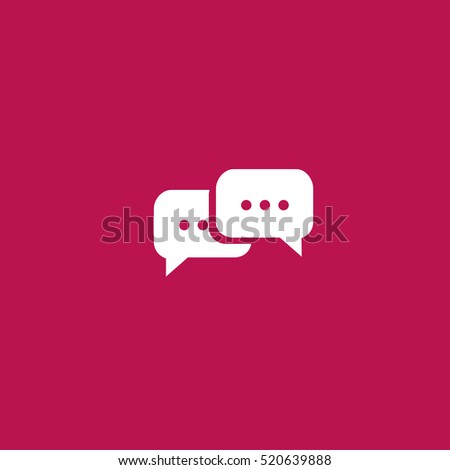 chat icon illustration vector, can be used for web and design