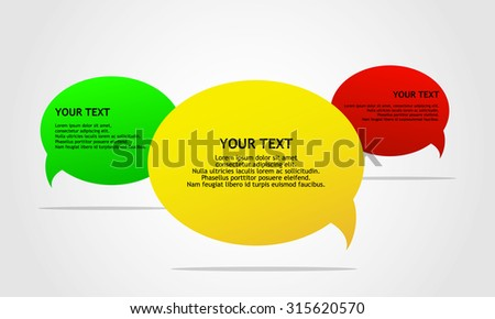 Chat icon vector illustration - stock vector