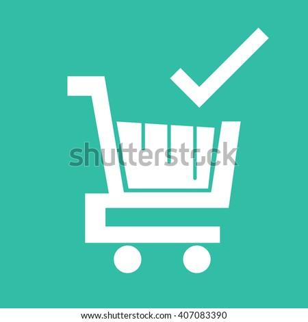 Cheap Online Shopping Icon - stock vector