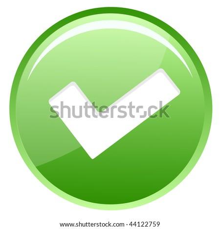 check icon - stock vector