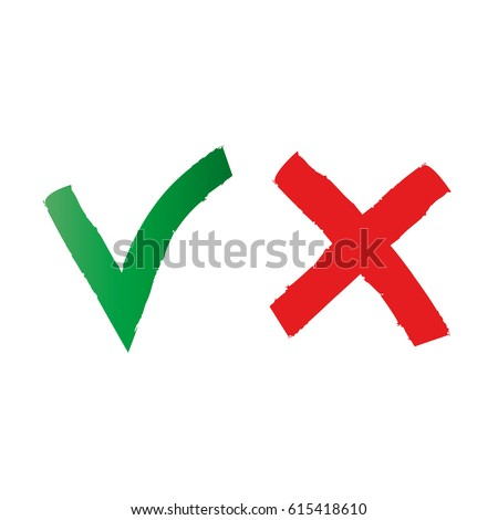Check Mark Icon Checkmark Symbol Stockvector 615418610 Shutterstock