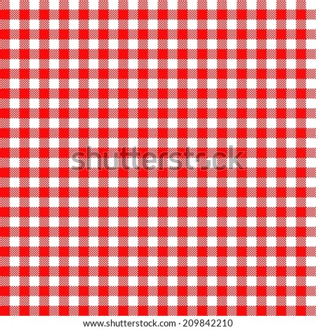 Checked background pattern seamless finely red - stock vector