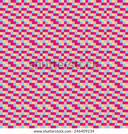 checker chess square abstract background - stock vector