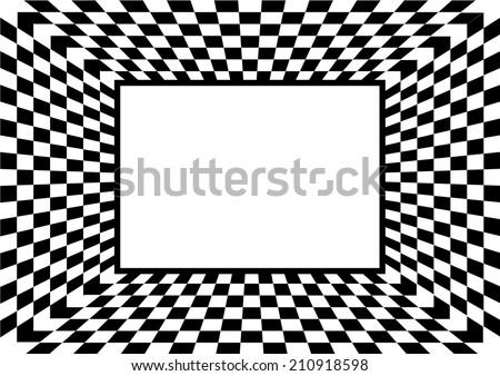 Checkerboard Background. Vector - stock vector