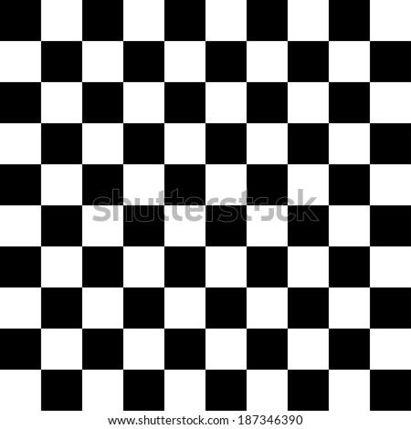 Checkered Background, chessboard or checkerboard.EP10 file. - stock vector