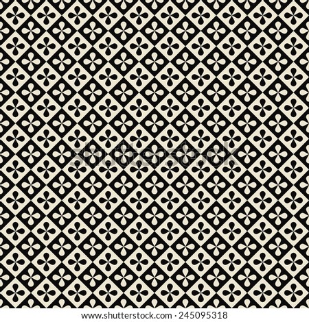 checkered floral pattern. checkered floral pattern. can by tiled seamlessly.