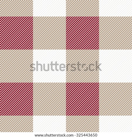 Checkered seamless textile pattern. Backgrounds & textures shop. - stock vector