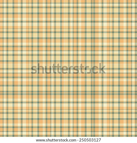Checkered seamless texture. Scottish vector pattern. Plaid fabric background. Unusual ornament tartan.