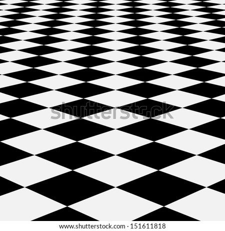 Checkered texture 3d background. Abstract. Design concept  - stock vector