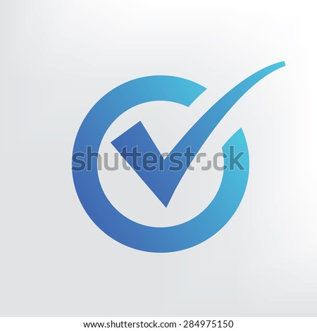 Checking icon design. Clean vector. - stock vector