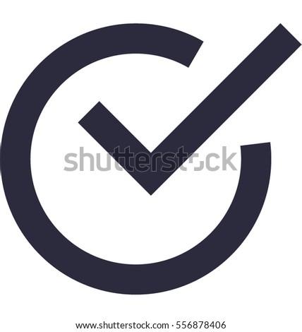 checkmark vector icon stock vector 556878406 shutterstock rh shutterstock com vector icon check mark free check mark vector