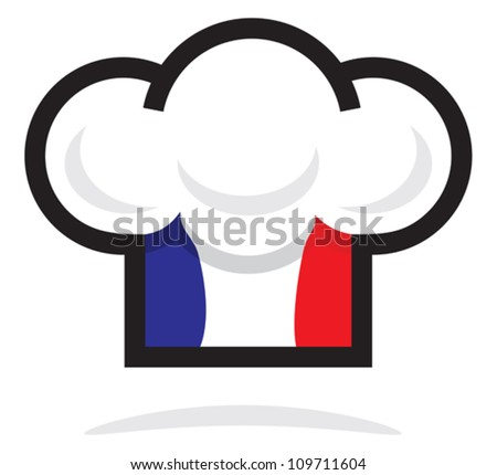 chef hat - stock vector