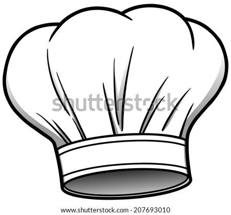 Chef Hat - stock vector